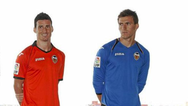 Aduriz y Guaita coincidieron en el Valencia de 2010 a 2012.