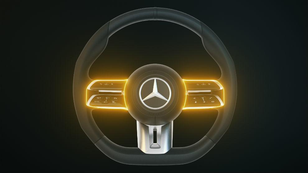 Nueva generación de volantes para la Clase E de Mercedes