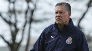 Peláez con Chivas.