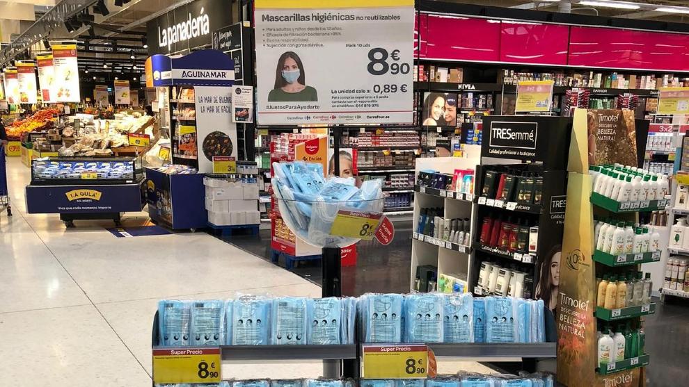 ¿Qué supermercados tienen mascarillas? Precios y tipos en Mercadona,...