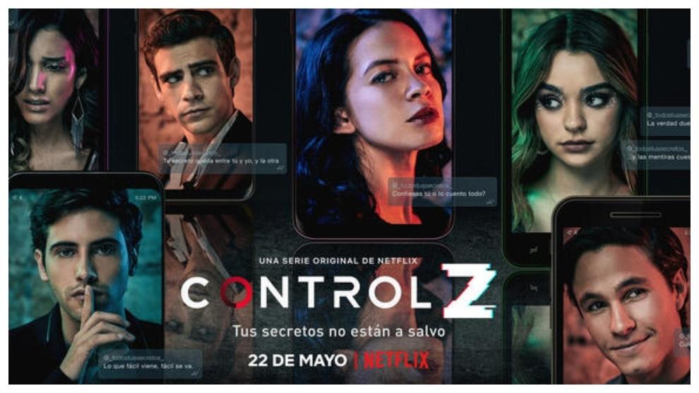 Control Z la elite mexicana serie netflix del momento
