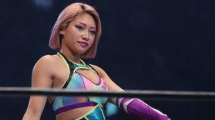 La luchadora Hana Kimura.