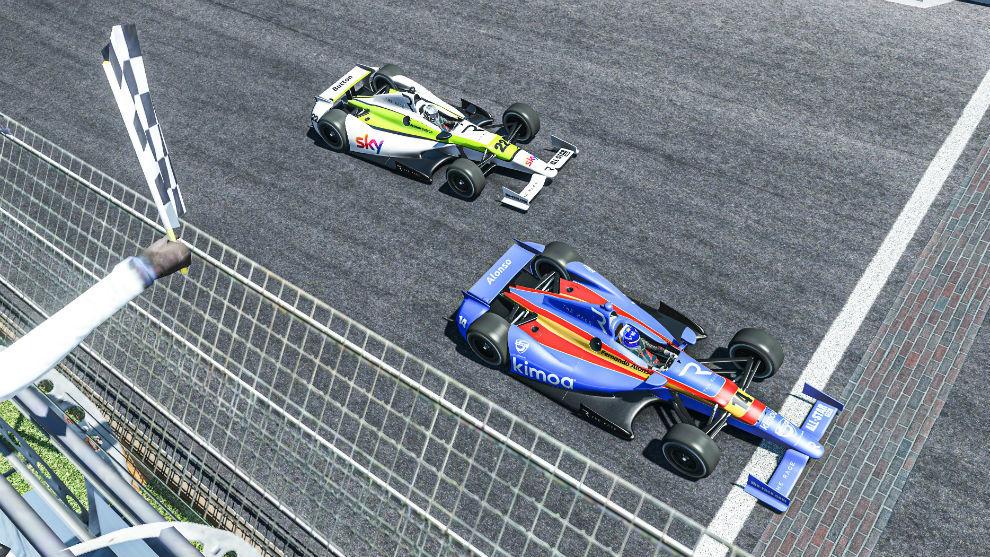 Fernando Alonso gana la Indy 500 virtual ¡dos veces!