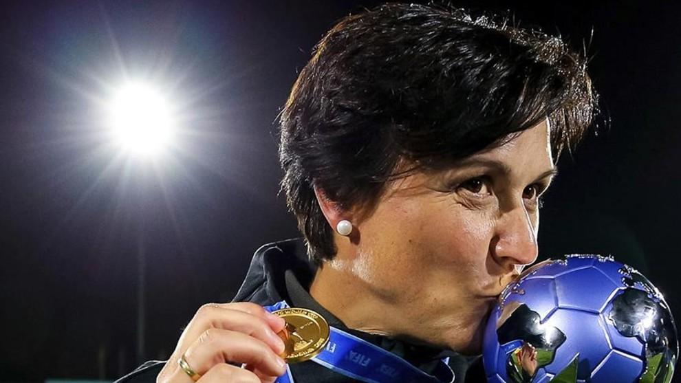 Toña Is, tras proclamarse campeona del mudo Sub'17.