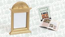 Colección Casa de muñecas. Ya a la venta Espejo chimenea + fascículo sólo 8,99¤
