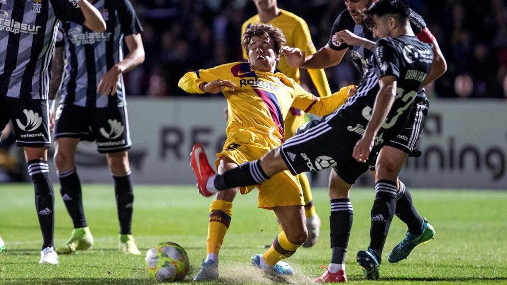 Dos jugadores del Cartagena, que peleará en el 'playoff' por subir a Segunda, dan positivo en el test y se quedarán aislados
