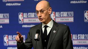 Adam Silver, comisionado de la NBA