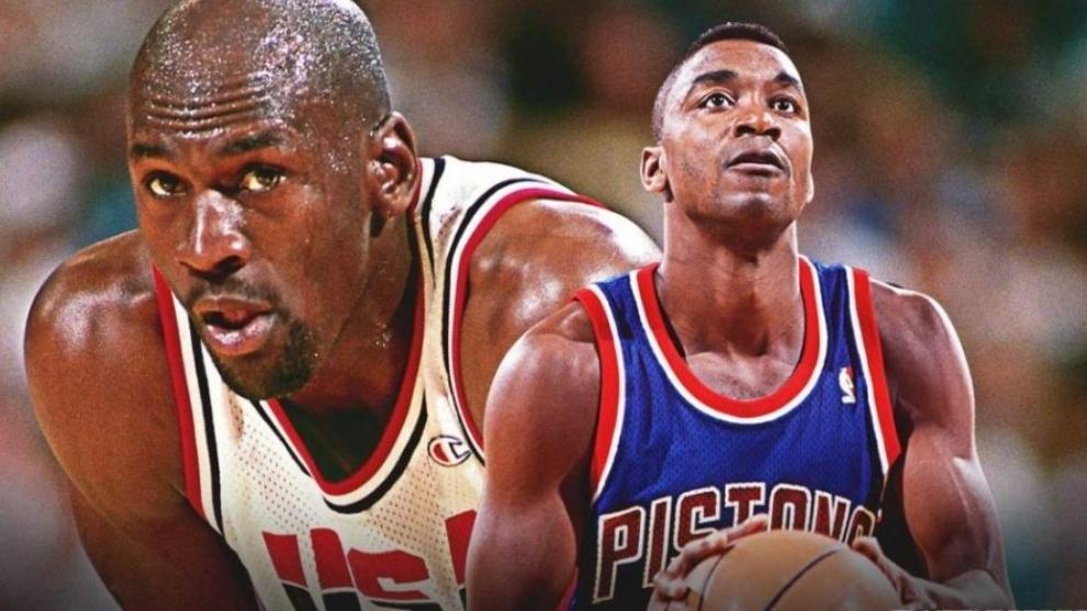 """El nuevo desprecio de Isiah Thomas a Michael Jordan: """"No era rival en los 80"""""""