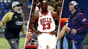 La vida oculta de las grandes estrellas del deporte.