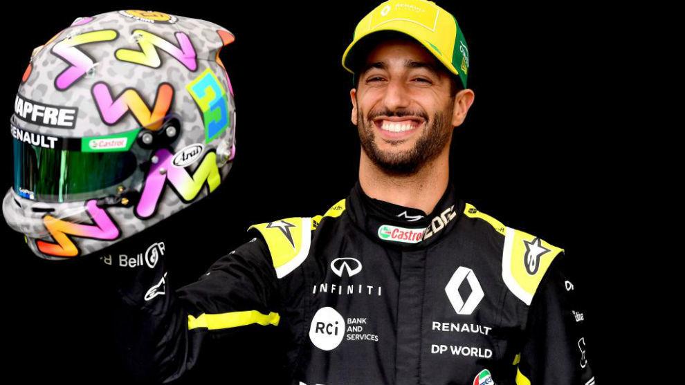 Ricciardo no será el número 1 en McLaren