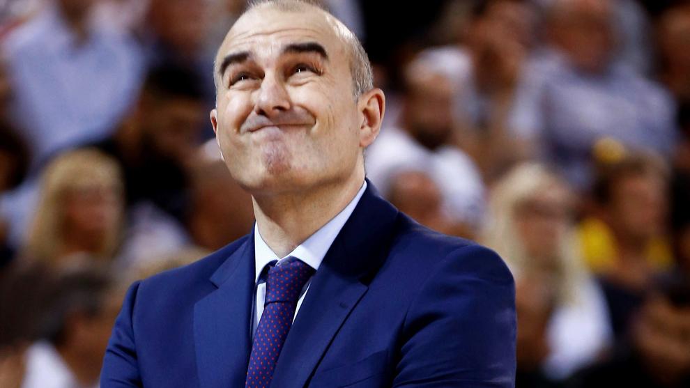 Jaume Ponsarnau, técnico del Valencia Basket