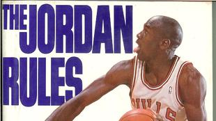 Portada del libro 'The Jordan Rules'