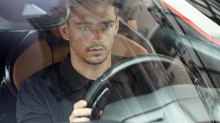Leclerc, rodando hoy por Montecarlo
