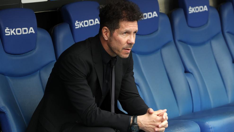"""Simeone: """"Cada día hay peores jugadores defendiendo"""""""