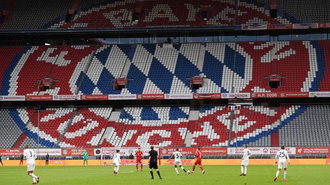 Imagen del Allianz Arena durante el Bayern 5-2 Eintracht.