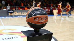 Balón oficial de la Euroliga.