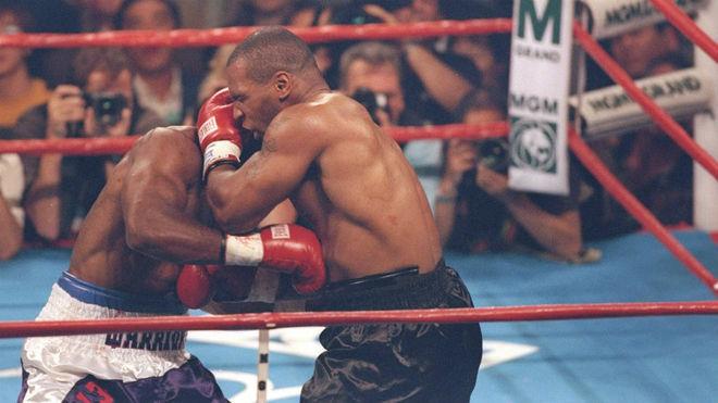 Tyson-Holyfield, en la mítica pelea del 'mordisco'