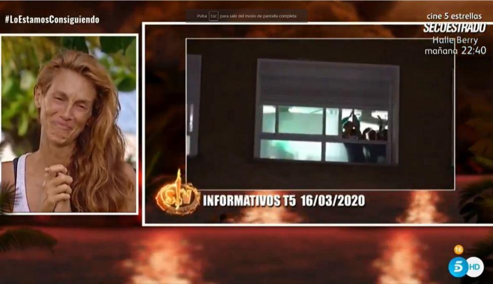 Supervivientes 2020: Elena destrozada al ver las imágenes del...