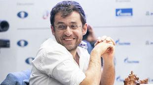 Aronian, en una partida