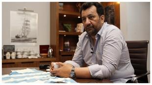 Al-Thani, durante una entrevista