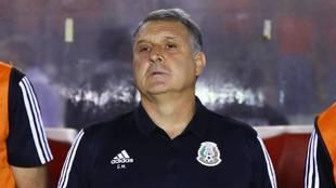 Tata Martino, director técnico de la selección mexicana de fútbol