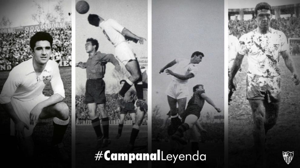Diferentes momento de la carrera de Marcelo Campanal (89).