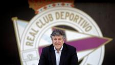 El consejero del Deportivo de La Coruña, Miguel Otero durante la...