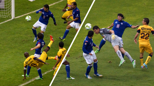 América vs Cruz Azul, final de vuelta del Clausura 2013.