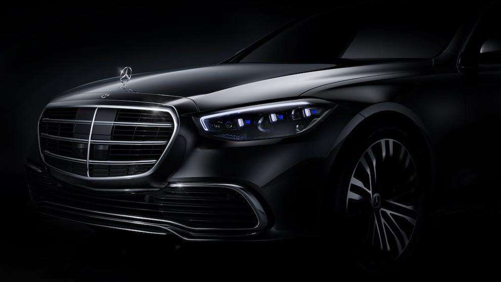 Primera imagen oficial del Mercedes-Benz Clase S 2021