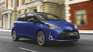 El Toyota Yaris Electric Hybrid.