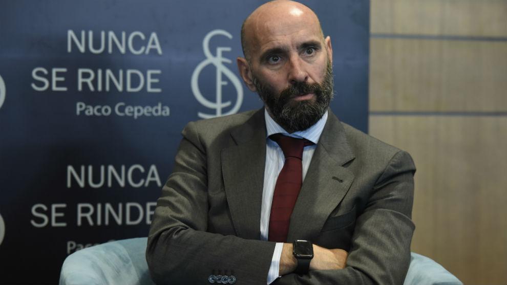 Monchi (50), director general deportivo del Sevilla.