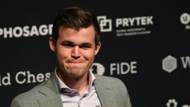 Magnus Carlsen, campeón del mundo de ajedrez.