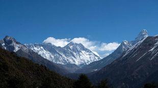 Imagen del monte Everest.