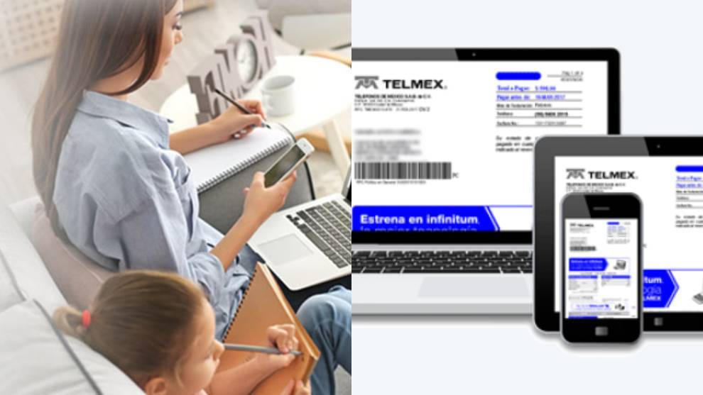 Pagar tu recibo de teléfono Telmex en línea
