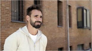 El ex capitán del Real Valladolid, Borja Fernández, durante una...