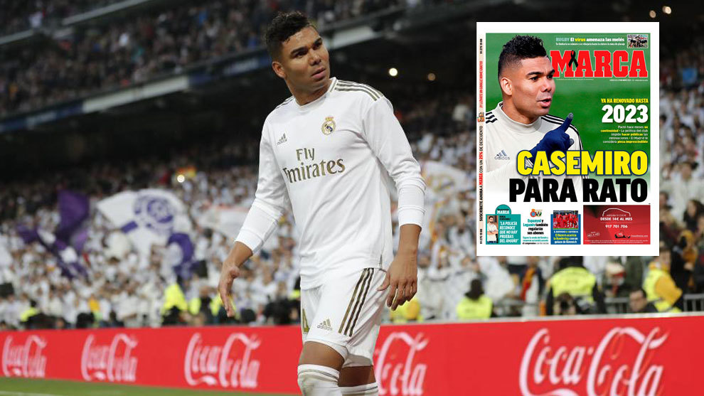 Casemiro signed Real Madrid extension until 2023 months ago