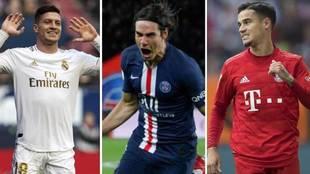 Jovic, Cavani o Coutinho son algunos de los nombres que más suenan en...