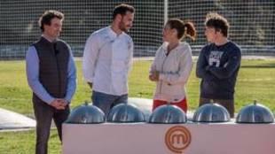 Craviotto y Saray protagonistas en la repesca de Masterchef 2020
