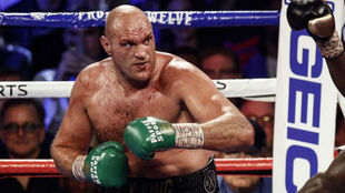 Tyson Fury, en un combate.