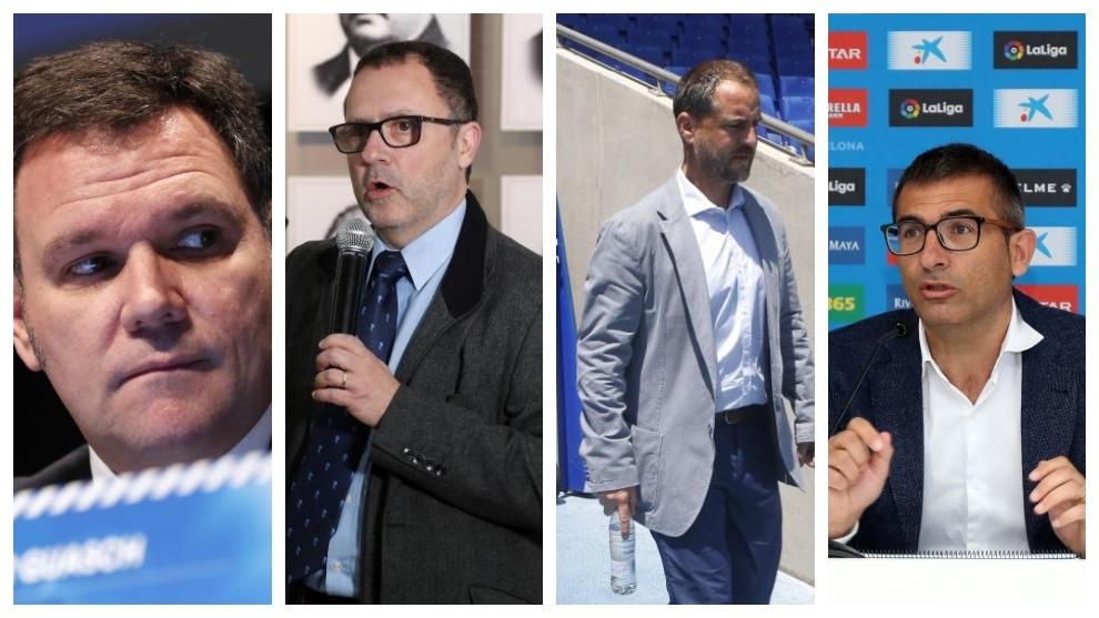Guasch, Filomeno, Perarnau y Fran Navarro.