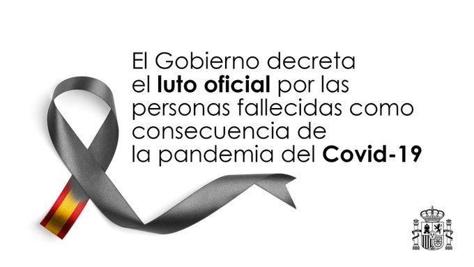 ¿A qué hora es el minuto de silencio hoy por el luto oficial por coronavirus?