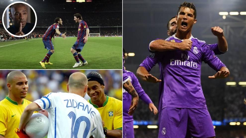 Los vídeos 'olvidados' de Messi, Cristiano, Zidane, Ronaldo...
