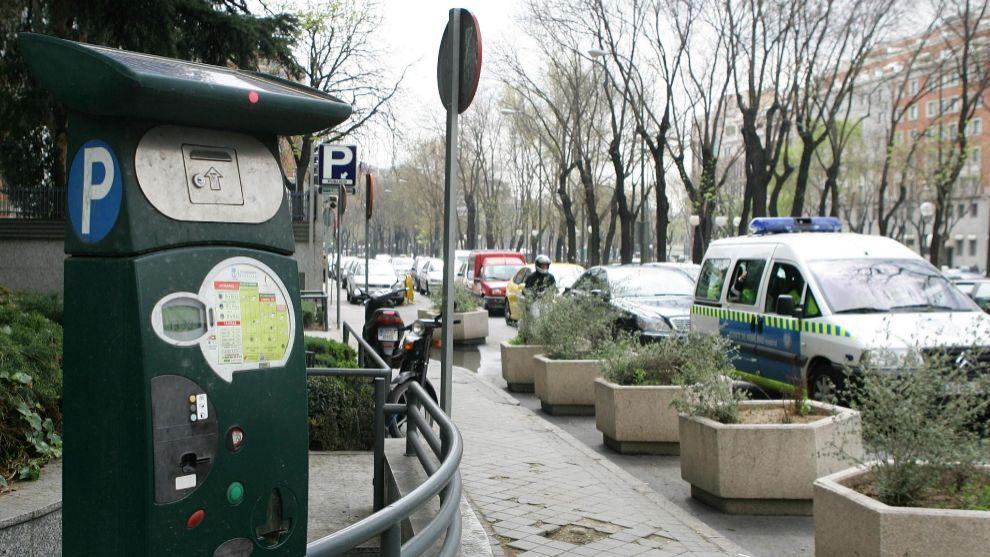 Las zonas SER de Madrid estarán activas desde el 1 de junio.