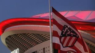 El Atlético ondeará a media asta la bandera del Wanda, como ya hizo...