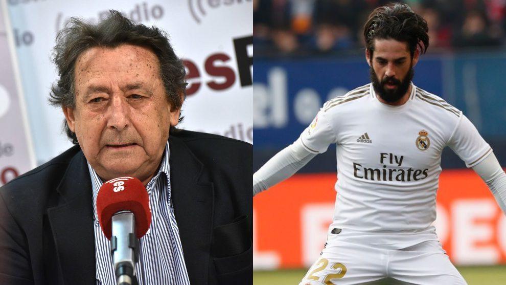 """La irrespetuosa crítica de Alfonso Ussía a Isco: """"Culibajo, de barba yihadista, no merece seguir en el Real Madrid"""""""