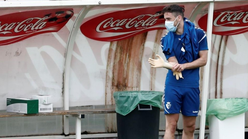Injuries stack up at Osasuna: Five in 48 hours