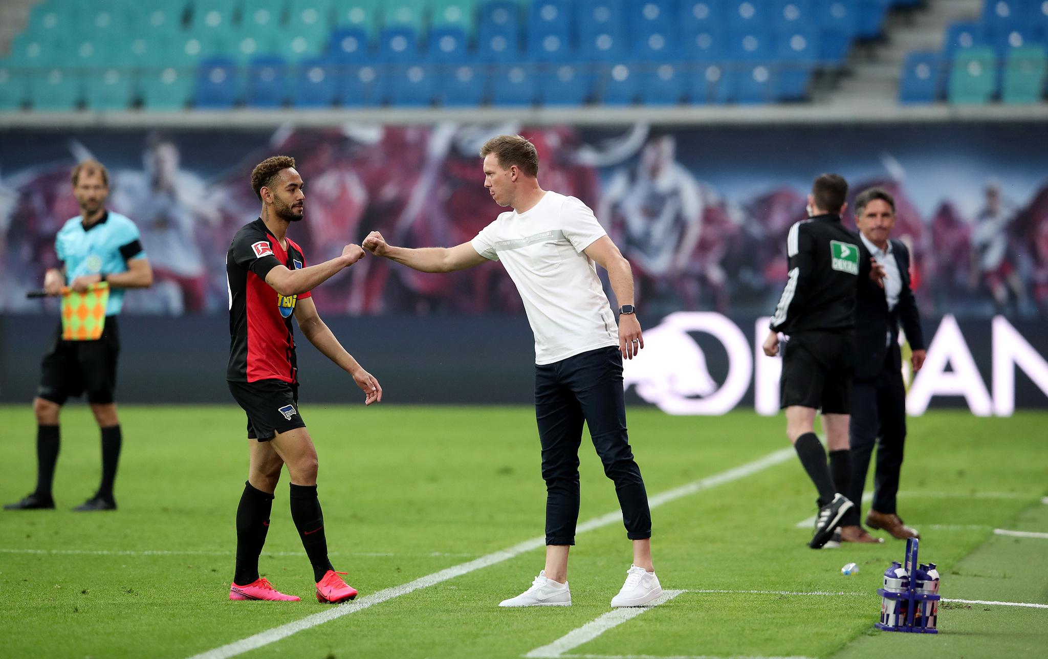 RB Leipzig 2-2 Hertha Berlin: Cunha comes back to haunt Leipzig as ...