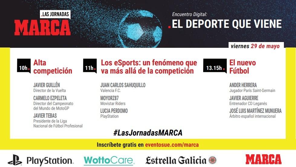 'El deporte que viene', este viernes un encuentro digital de 'Las jornadas MARCA'