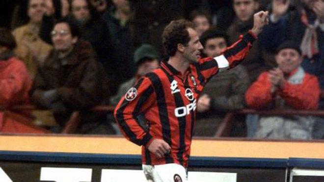 Baresi, con el Milan.