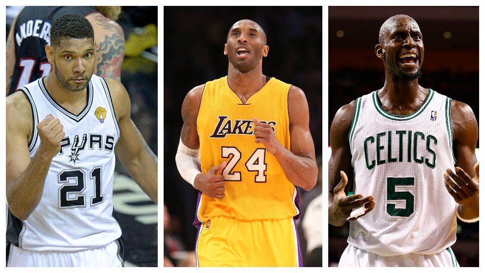 Kobe, Duncan y Garnett deberán esperar para entrar en el 'Hall of Fame'
